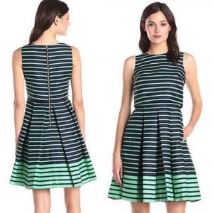3 FOR $15! Just Taylor Striped Pleated Dress